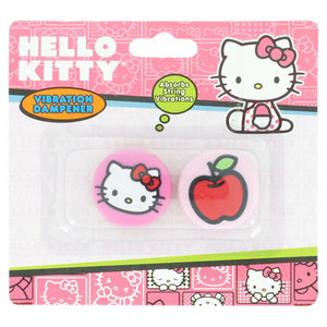 HELLO KITTY TENNIS VIBRATION DAMPENER FACE/APPLE