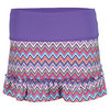 LUCKY IN LOVE Girls` Ruffle Tennis Skort Purple