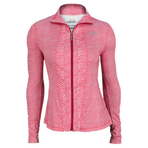 ELEVEN WOMENS LOVE GAME TENNIS JACKET PINK