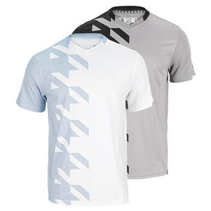 NEW BALANCE MENS CASINO V NECK TENNIS TOP