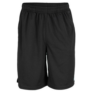 NEW BALANCE MENS BASELINE TENNIS SHORT BLACK