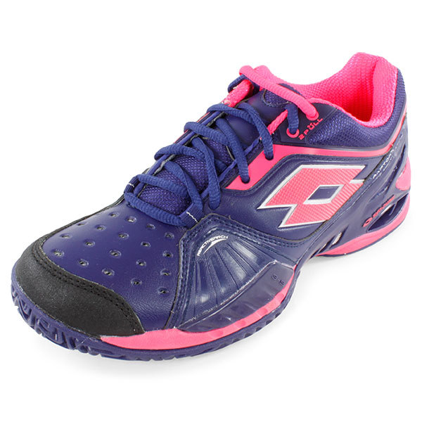 Women's Raptor Ultra Iv Tennis Shoes Purple And Pink