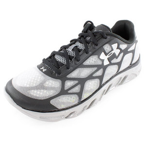 UNDER ARMOUR MENS SPINE VICE RUNNING SHOES BLACK/GRAY