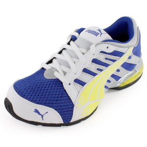 PUMA JUNIORS VOLTAIC 3 RUNNING SHOES MAZARINE