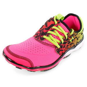 UNDER ARMOUR WOMENS MICRO G TOXIC SIX RUN SHOES GN/PK