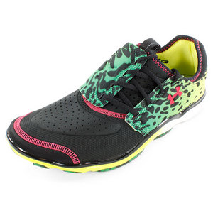 UNDER ARMOUR MENS MICRO G TOXIC SIX RUNNING SHOE BLK