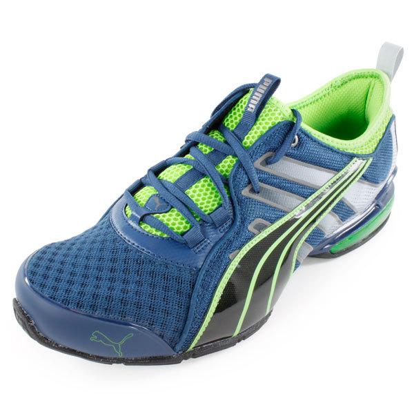 Men's Voltaic 4 Fade Running Shoe Navy And Green