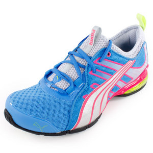 PUMA WOMENS VOLTAIC 4 FADE RUN SHOES BLUE
