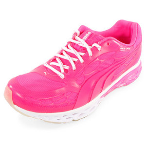 PUMA WOMEN BIOWEB ELITE GLOW RUN SHOES PINK