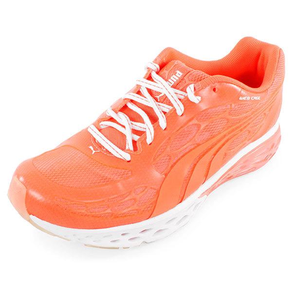 Women's Bioweb Elite Glow Running Shoes Peach