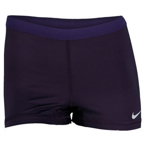 NIKE WOMENS SLAM TENNIS SHORT PURPLE
