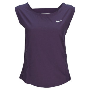 NIKE WOMENS DRI FIT WOVEN TENNIS TANK