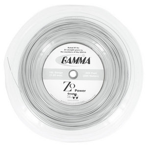 GAMMA ZO POWER 16L TENNIS STRING REEL SILVER