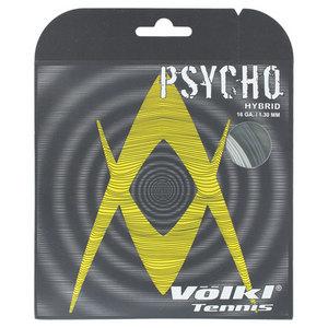 VOLKL PSYCHO HYBRID 16G TENNIS BLACK/SILVER