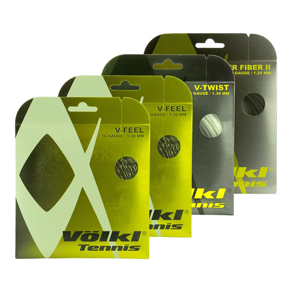 Multi 16g Four Pack Tennis String