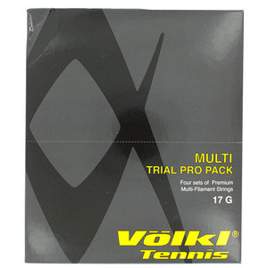 VOLKL MULTI 17G FOUR PACK TENNIS STRING