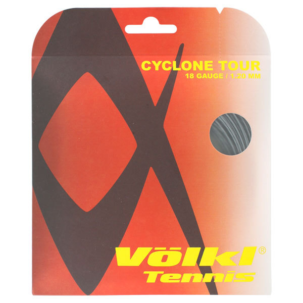 Cyclone Tour 18g Tennis String Anthracite