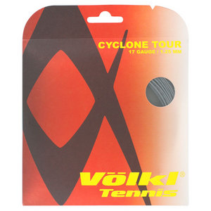 Cyclone Tour 17G Tennis String Anthracite