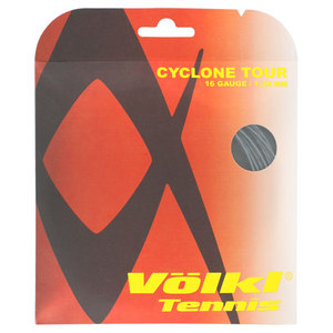 Cyclone Tour 16G Tennis String Anthracite