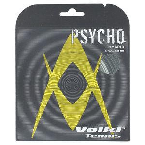 VOLKL PSYCHO HYBRID 17G STRING BLACK/SILVER