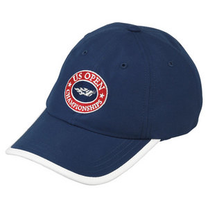 WILSON US OPEN CHAMP TENNIS CAP NAVY