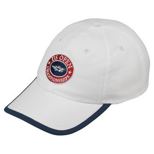 WILSON US OPEN CHAMP TENNIS CAP WHITE