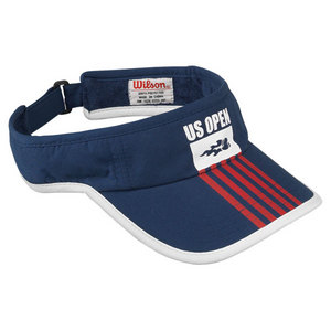 WILSON US OPEN TENNIS VISOR NAVY