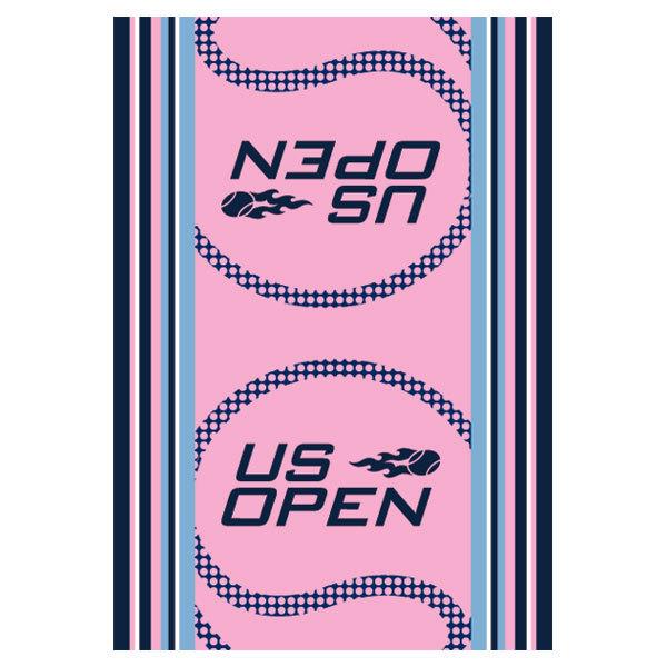 Us Open Authentic Tennis Towel Pink