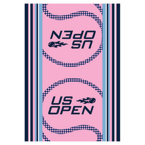 WILSON US OPEN AUTHENTIC TENNIS TOWEL PINK
