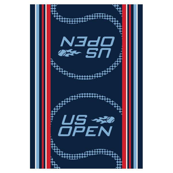 Us Open Authentic Tennis Towel Blue