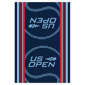 WILSON US OPEN AUTHENTIC TENNIS TOWEL BLUE