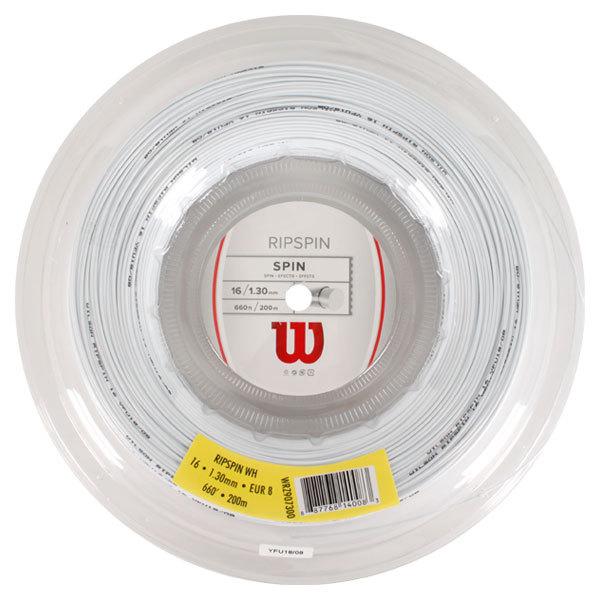 Ripspin 16g Tennis String Reel White