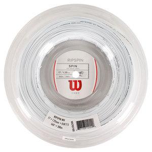 WILSON RIPSPIN 17G TENNIS STRING REEL WHITE