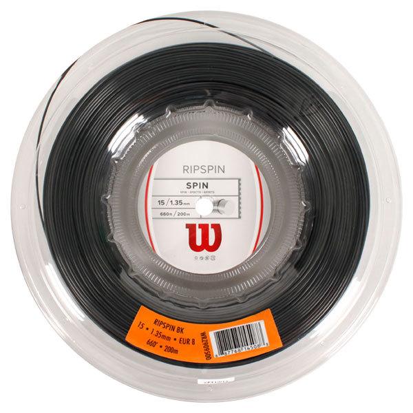Ripspin 15g Tennis String Reel Black