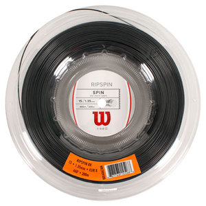 WILSON RIPSPIN 15G TENNIS STRING REEL BLACK