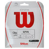 Ripspin 17G Tennis String Black by WILSON