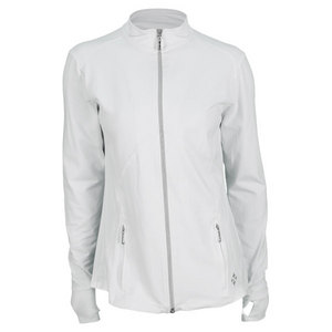 Women`s Thumbs Up Tennis Jacket White