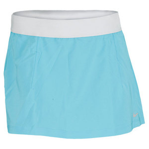 NIKE WOMENS SLAM TENNIS SKIRT BLUE