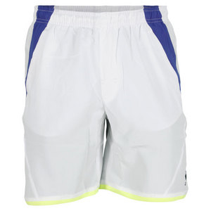 LOTTO MENS MATRIX TENNIS SHORT WHITE