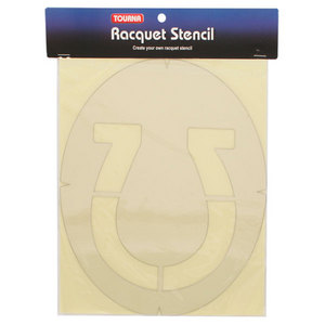 TOURNA HORSESHOE TENNIS STENCIL