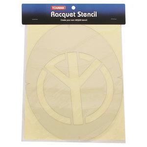 Peace Symbol Tennis Stencil