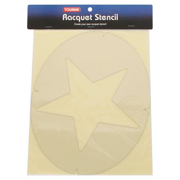 Star Tennis Stencil