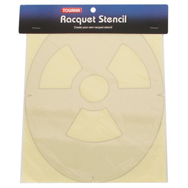 Nuclear Symbol Tennis Stencil