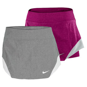 NIKE WOMENS DF HEATHERED WOVEN SKIRT