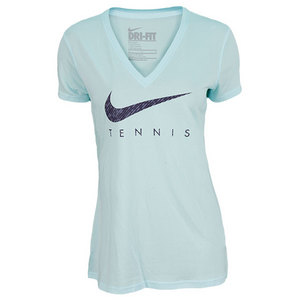 NIKE WOMENS TENNIS READ TEE