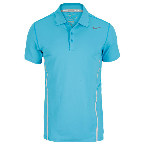 Men's Sphere Tennis Polo Blue