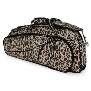 ALL FOR COLOR CLASSIC LEOPARD 2 PACK TENNIS BAG