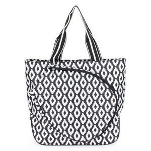 ALL FOR COLOR UPTOWN CHARM TENNIS TOTE