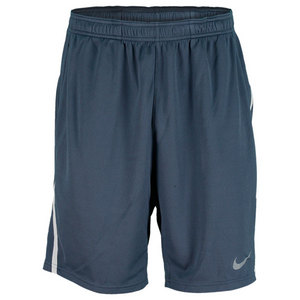 NIKE MENS POWER 9 INCH KNIT SHORT NAVY