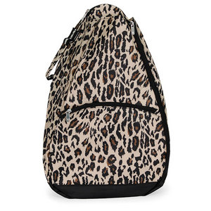 ALL FOR COLOR CLASSIC LEOPARD TENNIS BACKPACK